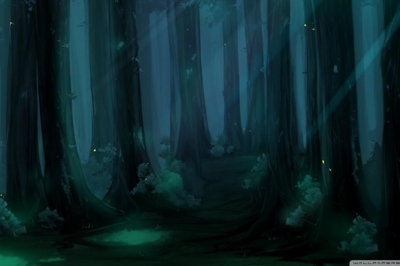 fantasy fantasy forest MEMEs Anime Magical Forest Background