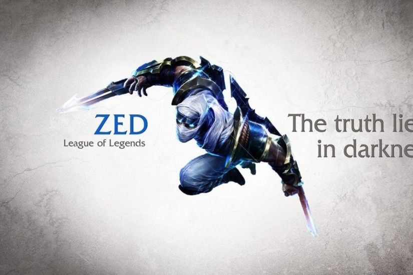 Wallpapers For > League Of Legends Zed Wallpaper