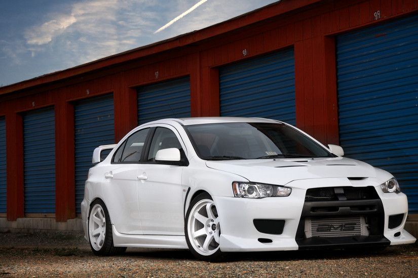 Mitsubishi Lancer Evolution X HD Wallpaper