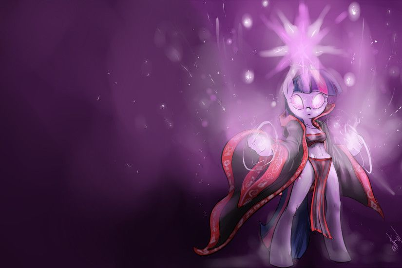 Twilight Mage Wallpaper by atryl Twilight Mage Wallpaper by atryl