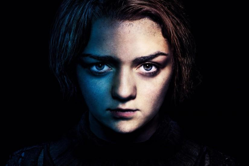 Preview wallpaper game of thrones, maisie williams, arya stark 3840x2160