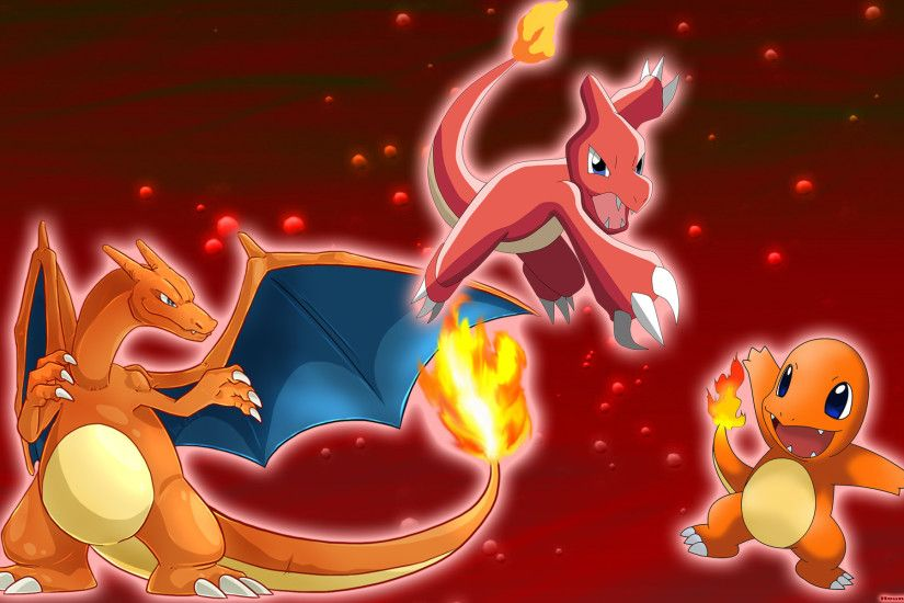 Pokemon fire red backgroundpokemon fire starter wide desktop .
