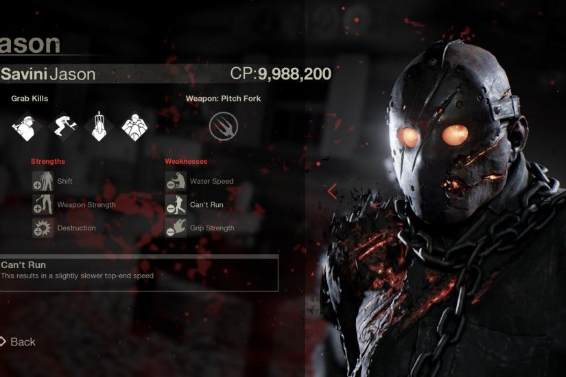 Friday The 13th The Game Savini Jason Exclusive