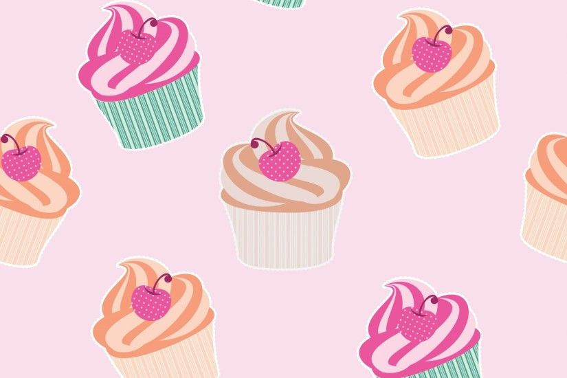 Cupcakes Wallpaper Background