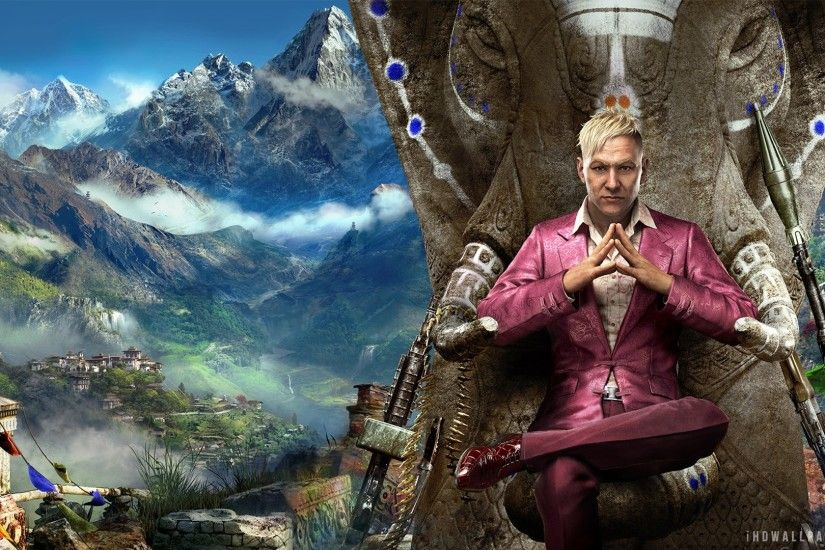Far Cry 4 New Game Wallpapers | HD Wallpapers ...