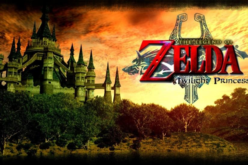 The Legend Of Zelda Twilight Princess Background.