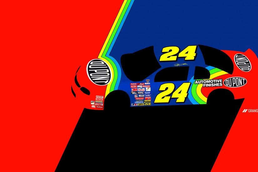 Jeff Gordon – Rainbow Warrior. Desktop Wallpaper. 1920×1080