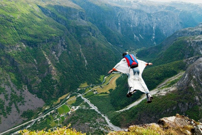 Wingsuit parachute flying fly flight extreme birdman diving skydive  skydiving people 1wingsuit suit people wallpaper | 2048x1361 | 648323 |  WallpaperUP