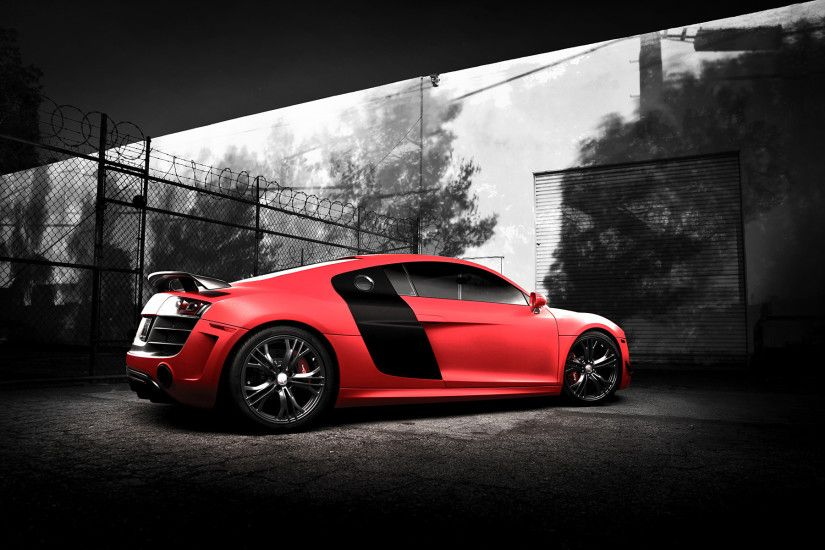 Audi R8 ABT. Beautiful carbon spoiler with a subtle red accent. | Audi the  gR8 | Pinterest | Audi and Audi R8