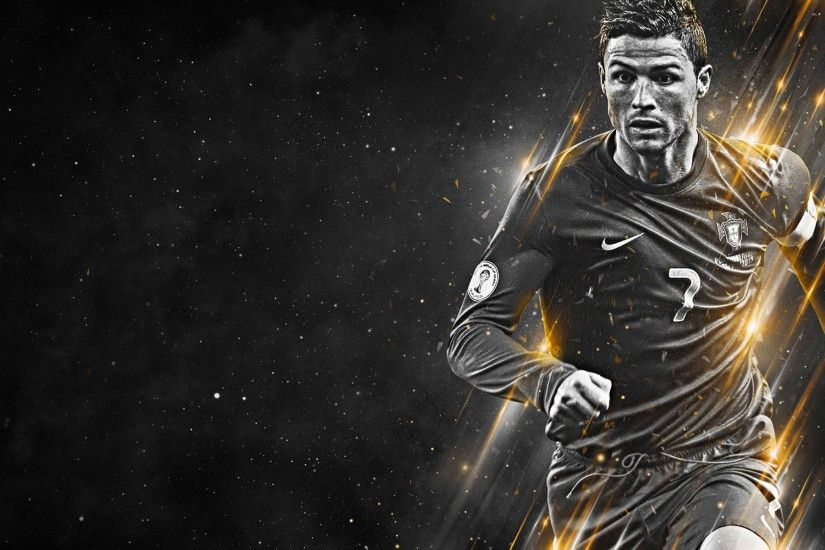 Cristiano Ronaldo black and white wallpaper - Cristiano Ronaldo .