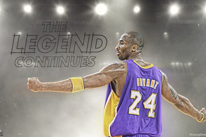 Legend Continues 4K Kobe Bryant Wallpaper
