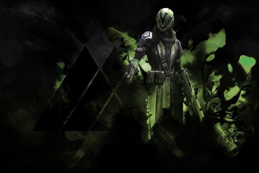 Warlock Destiny Guardian class character game. HD 1920x1080 1080p and .