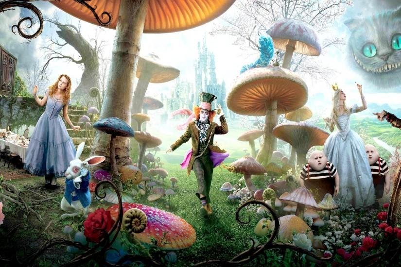 download free alice in wonderland wallpaper 1920x1080 for phones