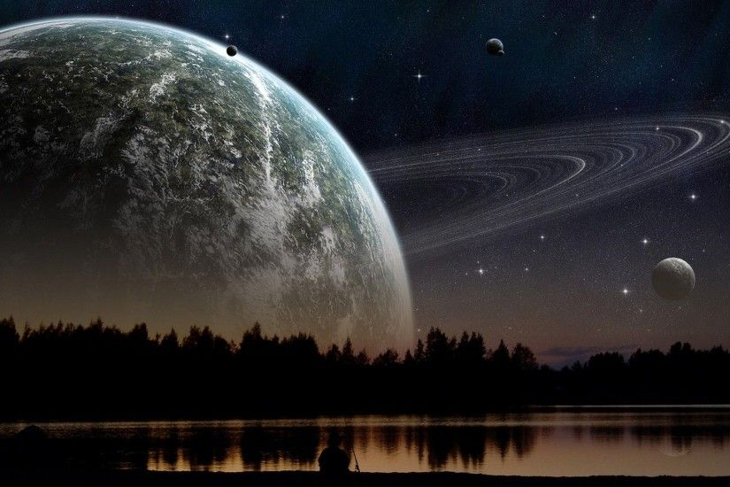 Alien Planet Wallpapers HD 1920×1200