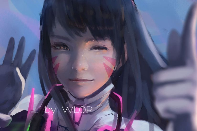 Video Game - Overwatch D.Va (Overwatch) Wallpaper