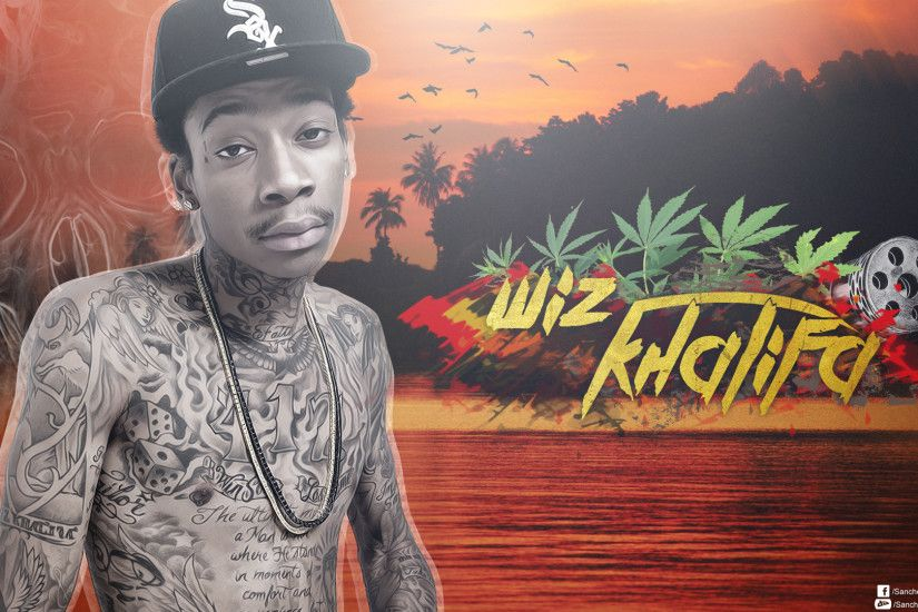 Wiz Khalifa Wallpaper 2013 Wiz khalifa v2by sanchezdesign