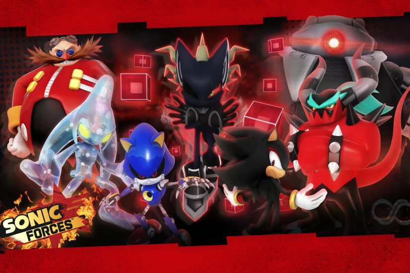 ... Sonic Forces: Villains Wallpaper by Nibroc-Rock