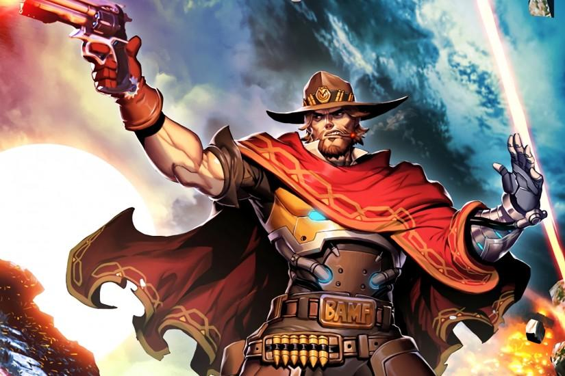 full size mccree wallpaper 3400x2125 hd for mobile