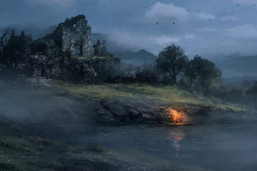 top fantasy landscape wallpaper 1920x1080 for hd 1080p