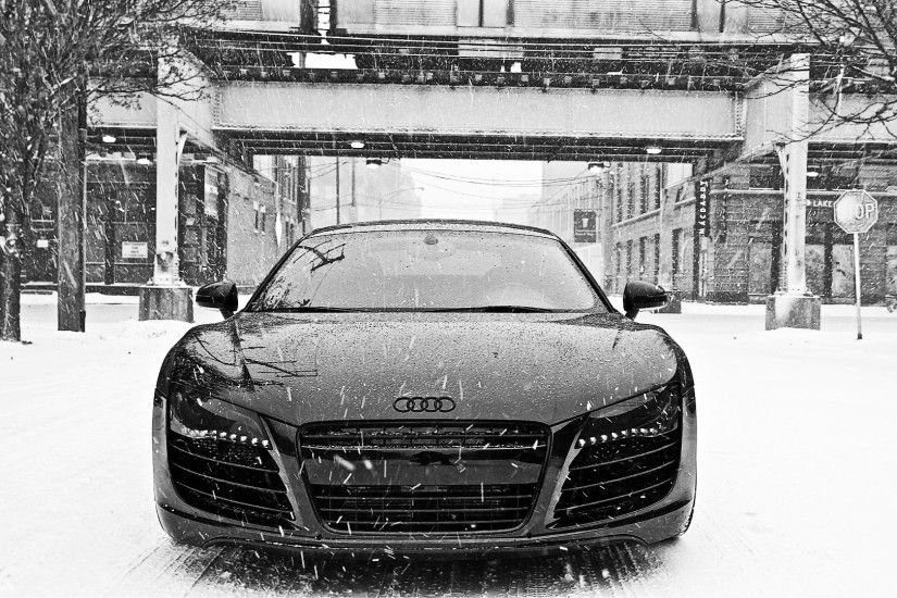 Black Audi R8. HD resolutions: 1280 x 720 1366 x 768 1920 x 1080 Original