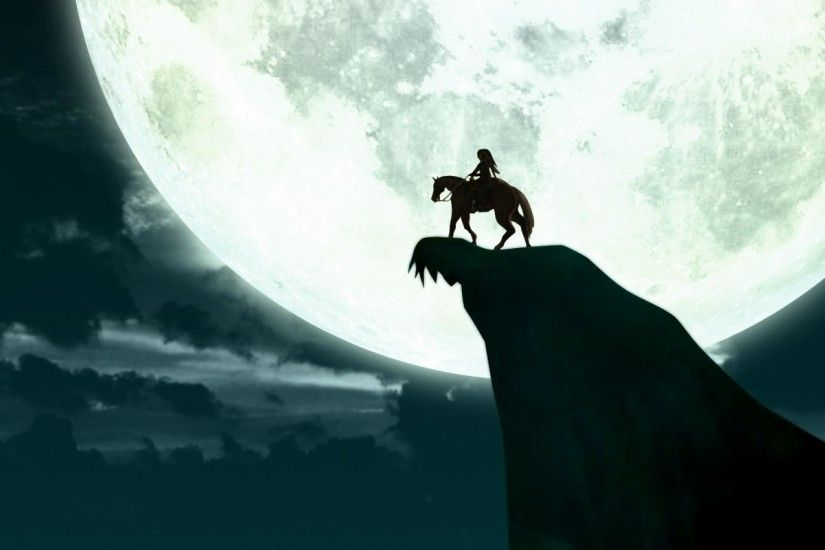 link moon the legend of zelda silhouette horse #jhk