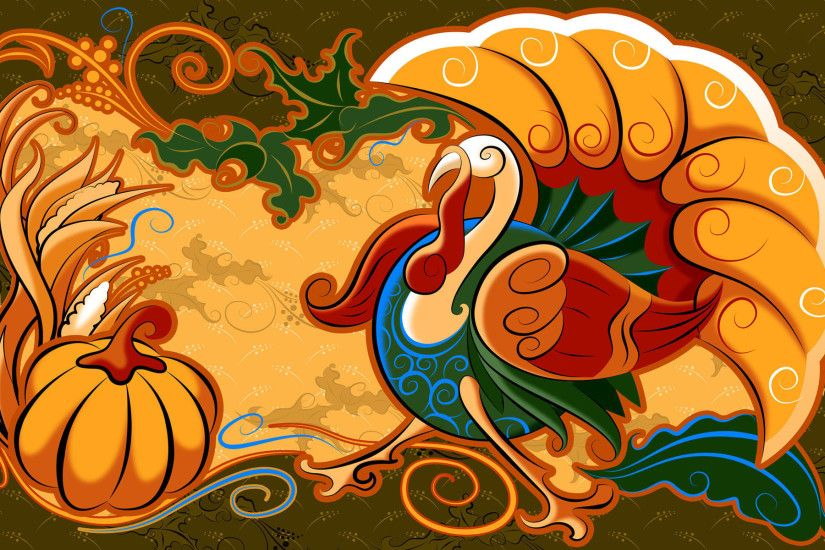 Wallpaper Of The Day: Thanksgiving Art