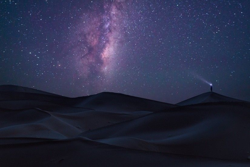 nature, Landscape, Long Exposure, Desert, Sahara, Milky Way, Starry Night,  Dune, Space Wallpapers HD / Desktop and Mobile Backgrounds