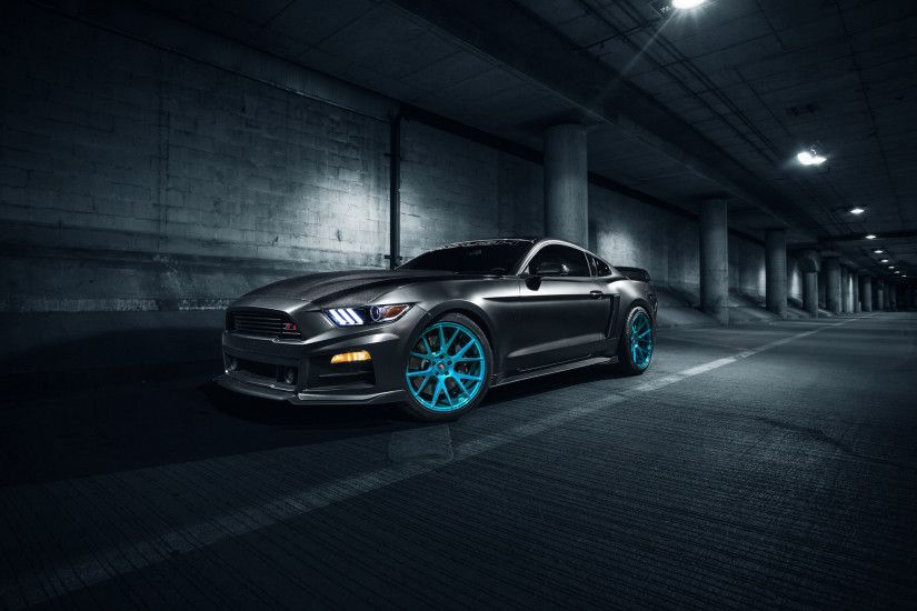 Ford Mustang Muscle Car HD (1366x768 Resolution)