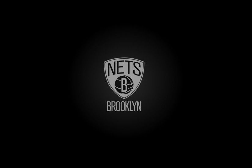 Brooklyn Nets wallpaper, logo, widescreen - 1920x1200
