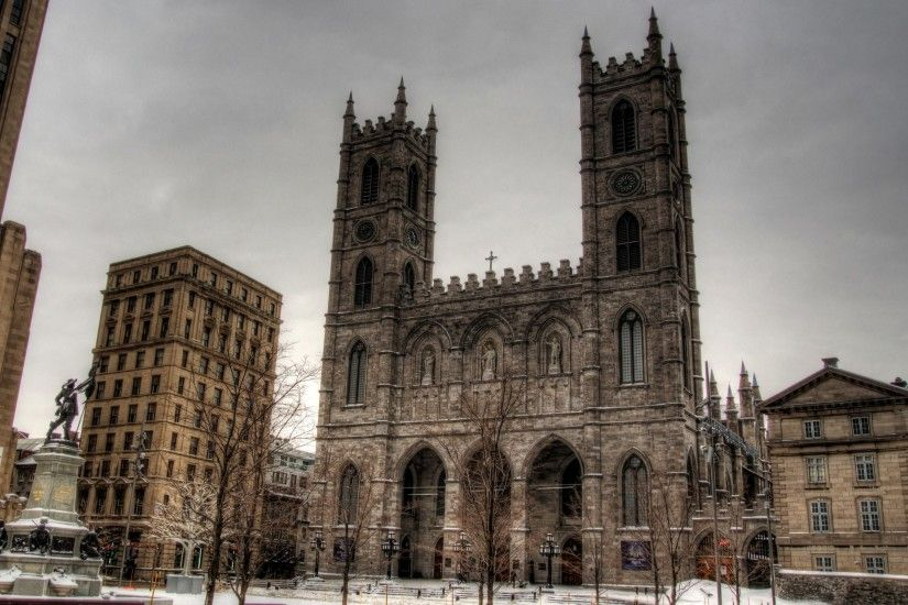 notre dame basilica in montreal free 2560x1600