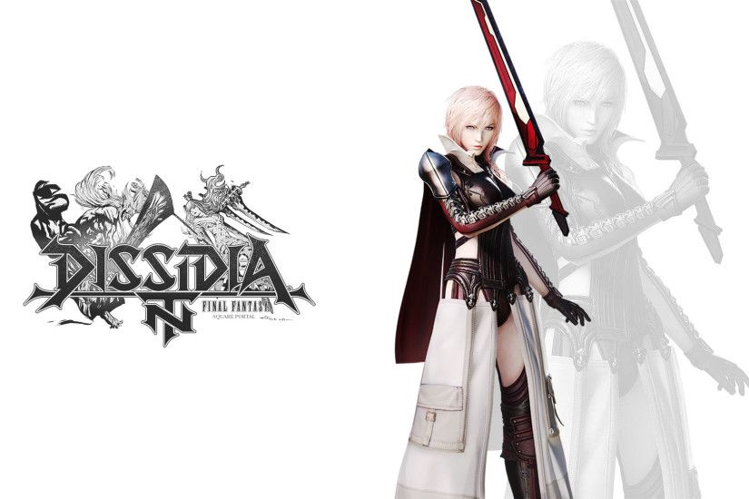 It's less than two months left until the release of Dissidia Final Fantasy  NT. We know many of you are very excited to see the brawler series finally  ...