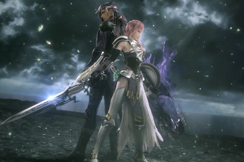 Video Game - Final Fantasy XIII-2 Lightning (Final Fantasy) Caius Ballad  Final