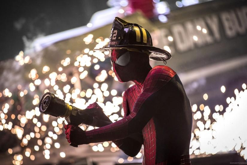 Spider-Man Firefighter for 2560x1600