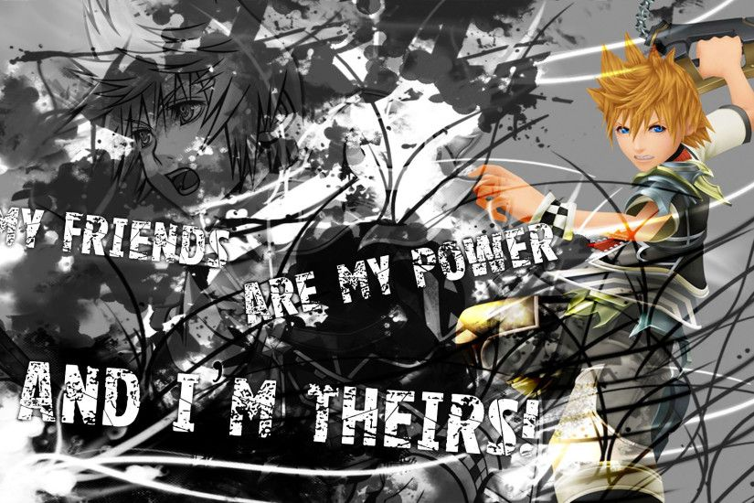 Kingdom Hearts Roxas Wallpaper Hd