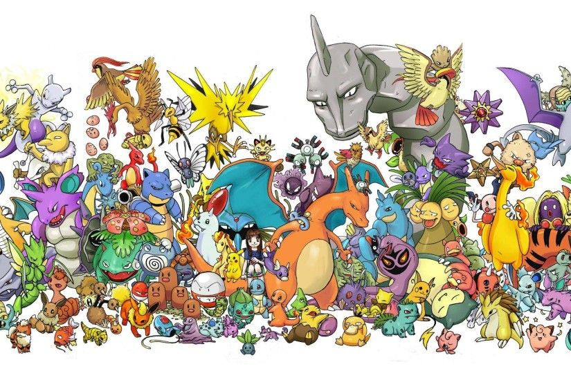 All Pokemon Wallpaper ·① WallpaperTag