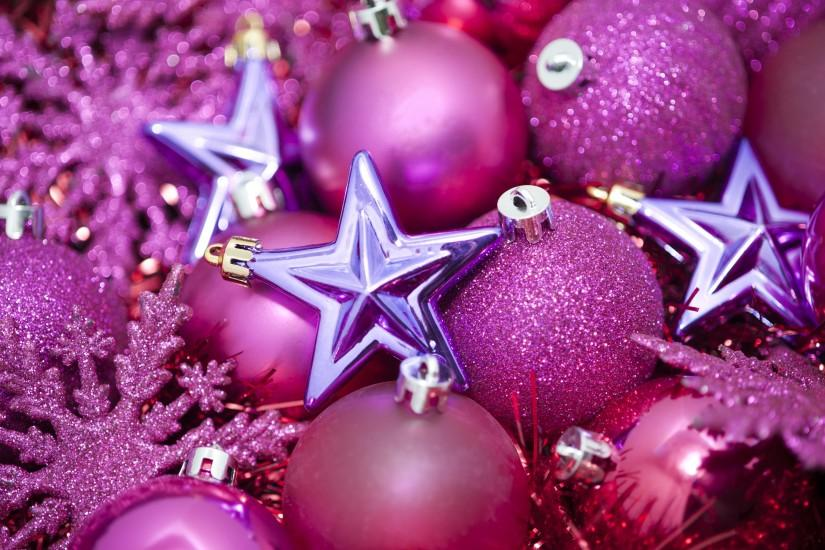 Photo of pink glittery christmas stars | Free christmas images