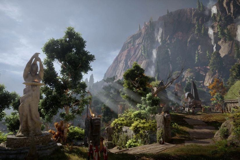 Animated Desktop Wallpaper of Inquisition at Dragon Age: Inquisition Nexus  - Mods and community