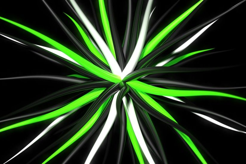 abstract, Digital Art, Black Background, Green, 3D, Tentacles, Artwork  Wallpapers HD / Desktop and Mobile Backgrounds
