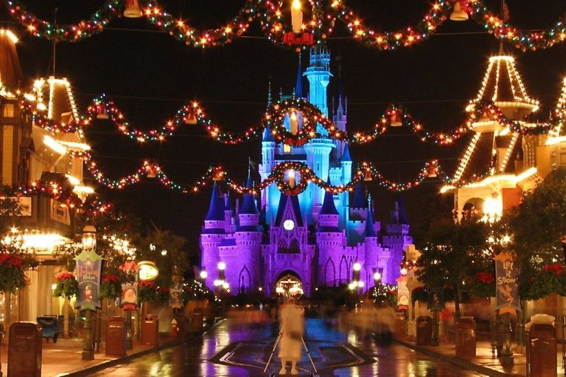 Disney World Christmas 743536