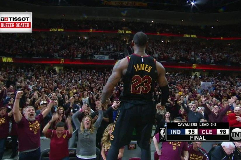 Cavs' superstar nails fourth playoff game-winning buzzer-beater of career