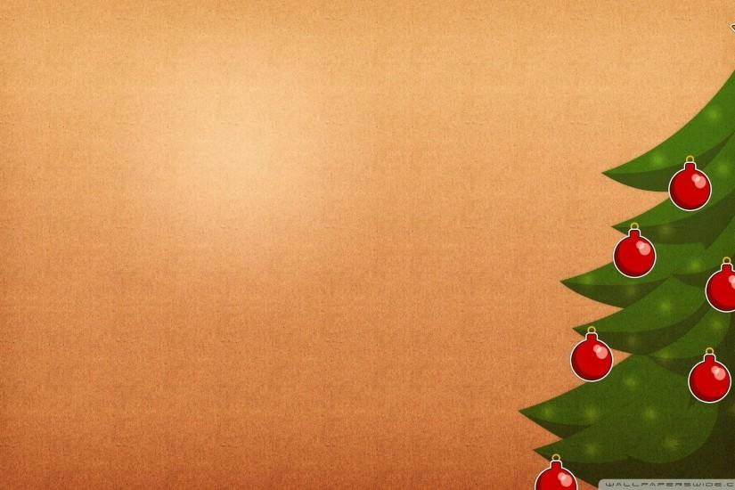 Christmas Tree Background Wallpaper