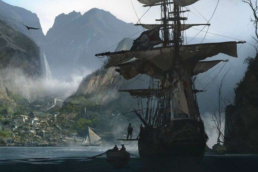 ... in s creed iv black flag full hd wallpaper and background ...