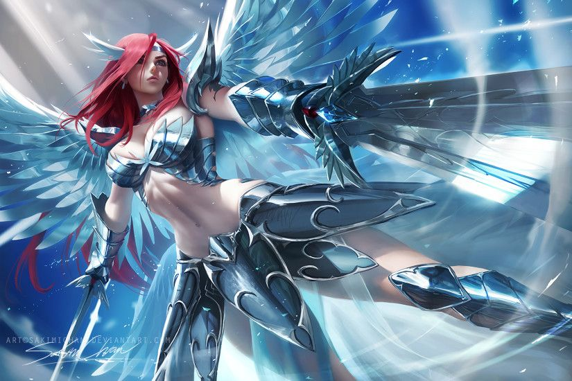 Anime - Fairy Tail Erza Scarlet Wallpaper