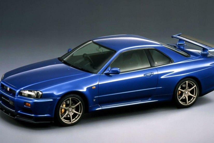 Nissan Skyline GT-R V-spec R34 wallpaper