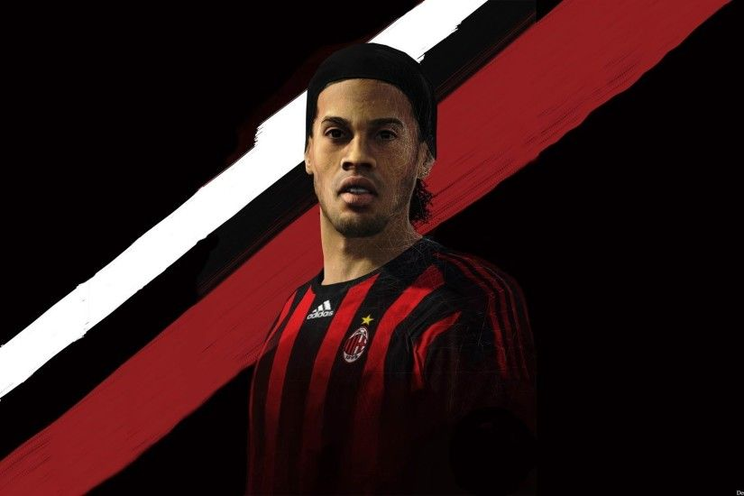 FIFA, Ronaldinho, AC Milan Wallpapers HD / Desktop and Mobile Backgrounds