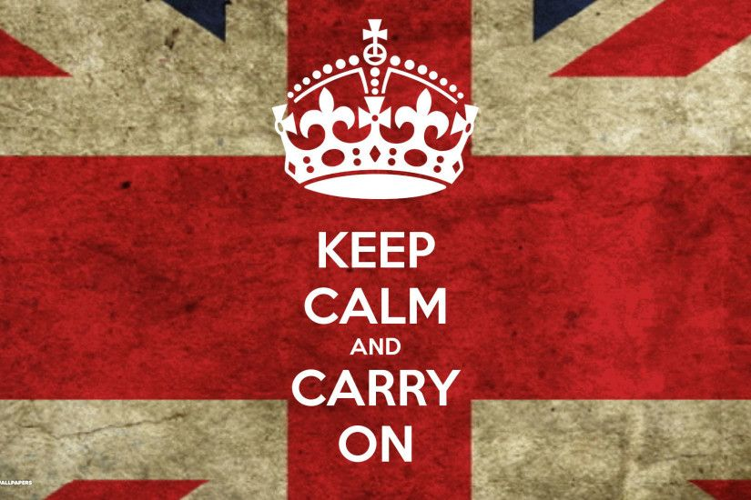keep calm and carry on british flag union jack wallpaper