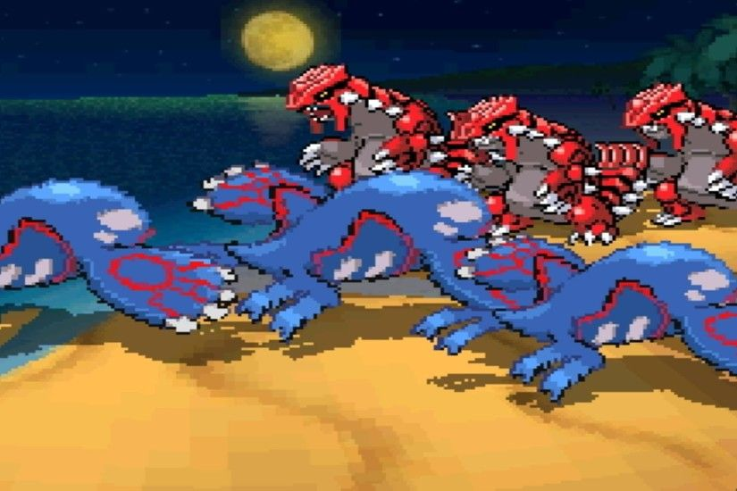 Rayquaza Groudon And Kyogre Wallpaper