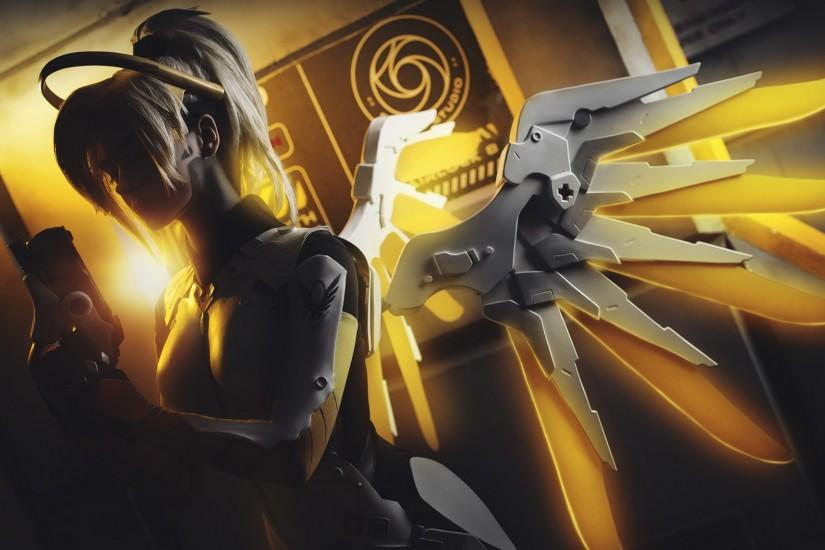 free mercy overwatch wallpaper 1920x1080 for samsung galaxy