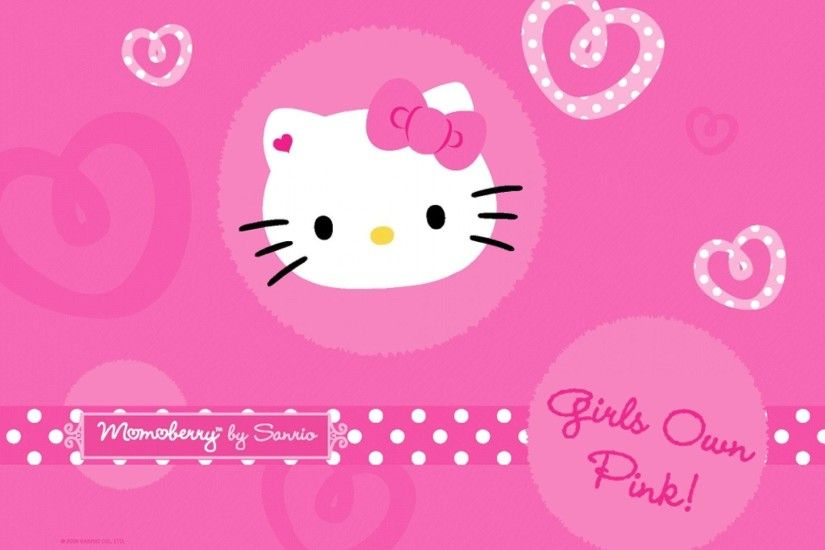 Sanrio Hello Kitty Wallpaper Pink