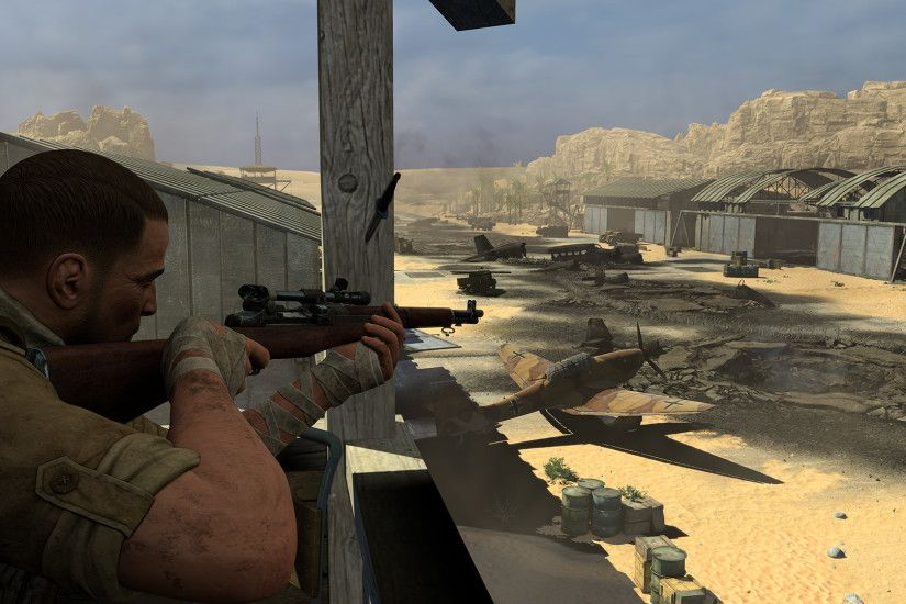 Sniper Elite III : Save Winston Churchill First Mission and Free  Multiplayer Update Now Live on Steam |